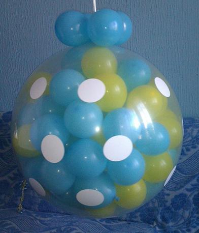 Balon dekor srednje balon eksplozije