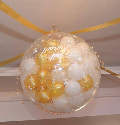 Balon dekor velike balon eksplozije